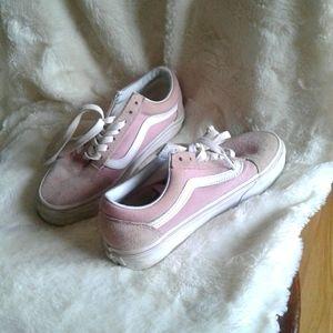 Women's vans sneakers size 5.5